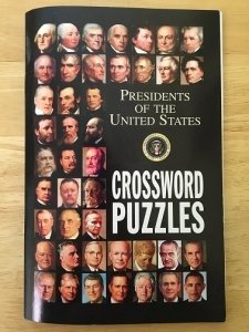Crossword puzzles on United States presidential facts.